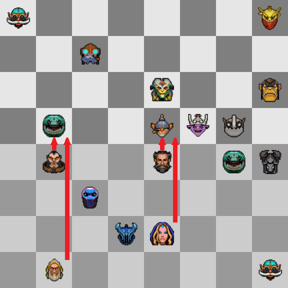 auto chess counter position