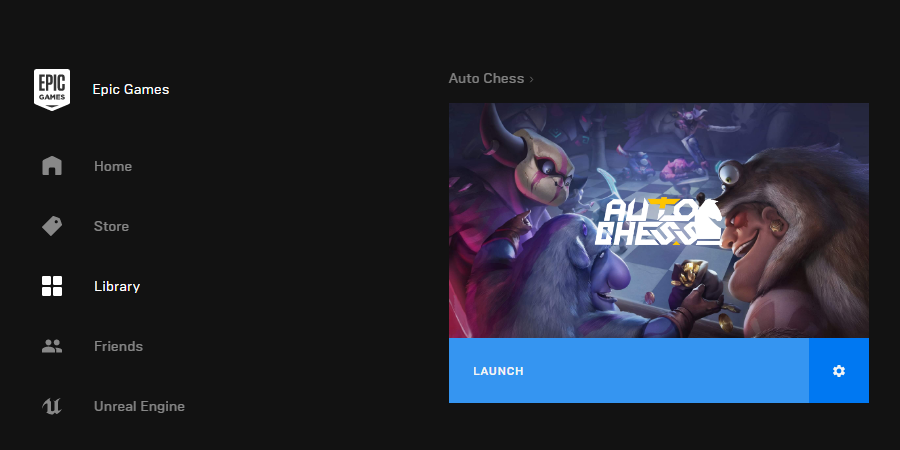 auto chess pc epicgames